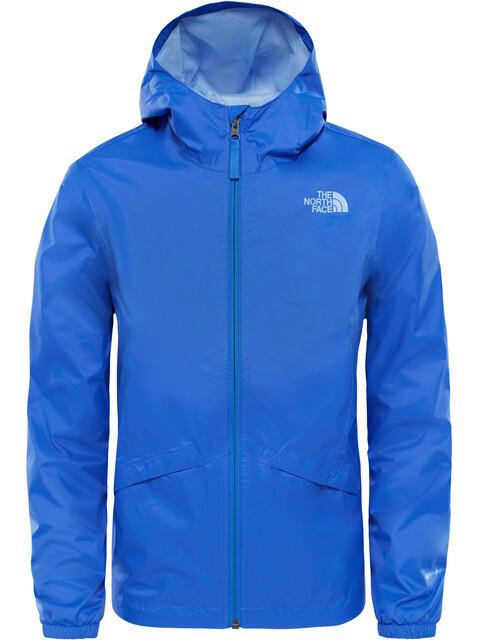 The North Face Girls Zipline Rain Jacket Dazzling Blue